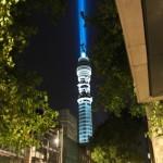 La BT Tower de Londre transformée en sabre laser géant