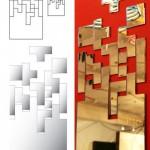 Deco Geek – Un miroir Tetris