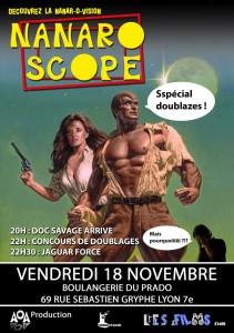 Les films d'a côté et AOA prod présentent le Nanaroscope à La Boulangerie du Prado