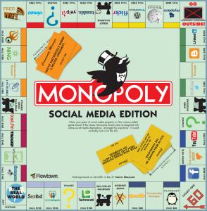 jouez au monopoly avec toutes les applis social media