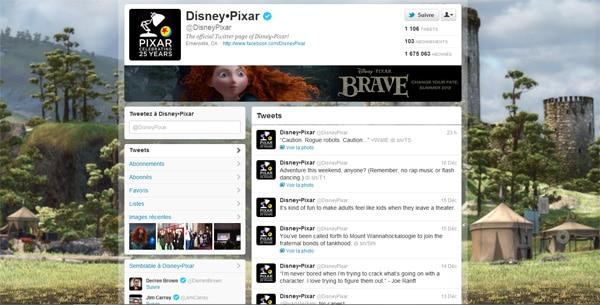 Twitter propose dorénavant aux marque de personnaliser leur page.