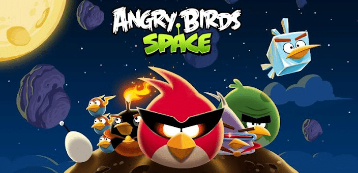 Angry birds Space est sorti !
