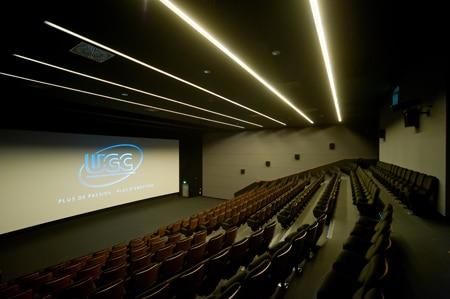 Une des salles du cinéma UGC Confluence