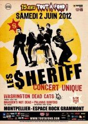 Affiche Les Sheriff 15 ans tout à fond