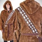 Un peignoir Chewbacca pour les matins difficiles