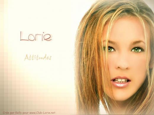 Lorie chanteuse