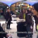 Quand Etam lâche 3 filles en sous-vêtements dans la gare de Lyon