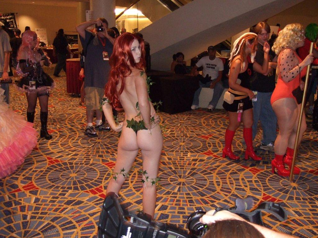 cosplay femme sexy geek poison ivy batman