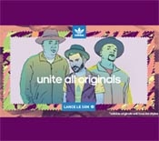 video publicité adidas unite all originals