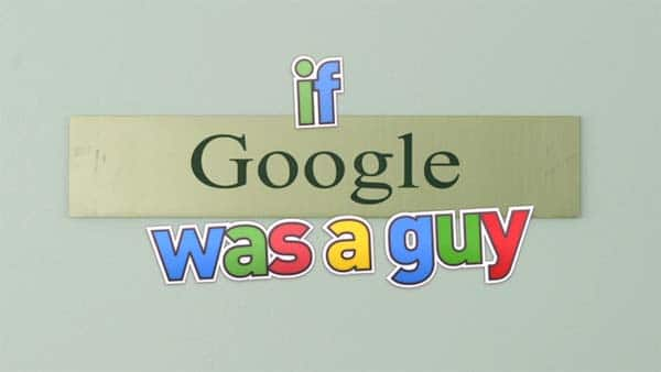 if google was a guy vidéo humour