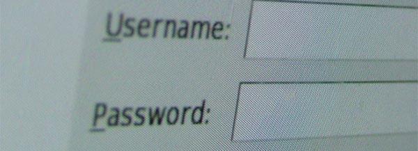 user et password