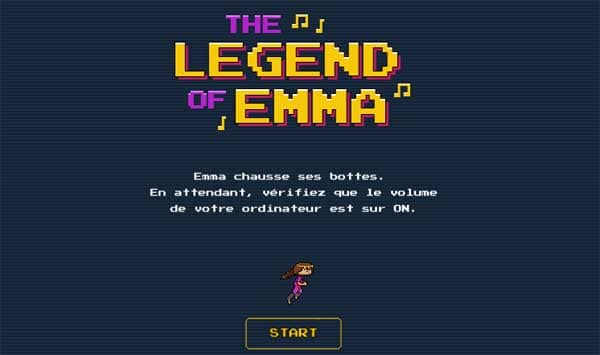 the legend of emme jeu vidéo sorti album
