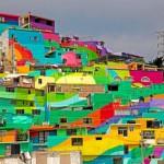 #StreetArt – Des artistes mexicains repeignent un quartier entier