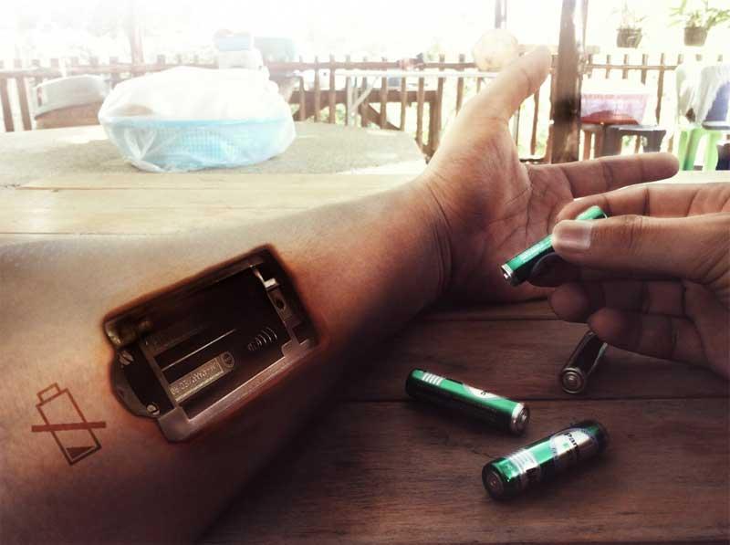 impossible de vivre sans batterie
