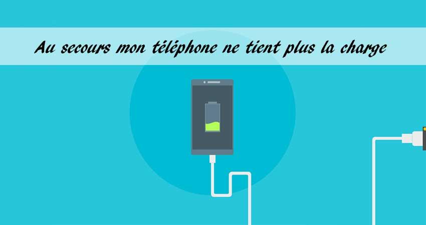 Problème de batterie de téléphone